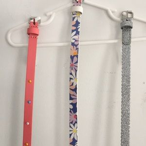 """Other - Bundle of 3 cute 26"""" belts - girls small"""